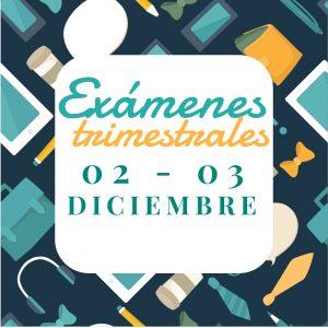 EXAMENES TRIMESTRALES 1st TERM