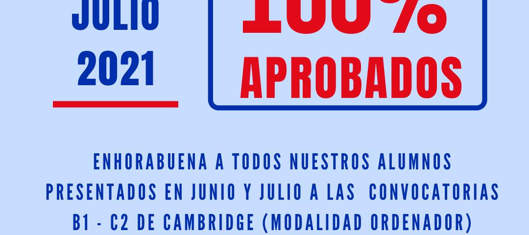 100 aprobados